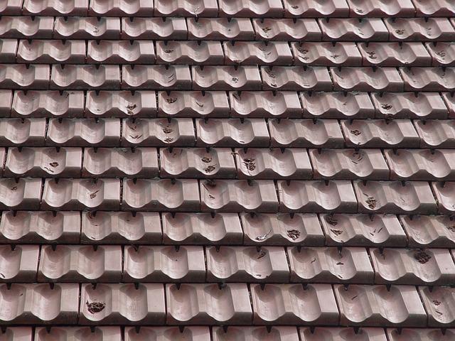 tašková střecha