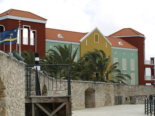 barevné domy