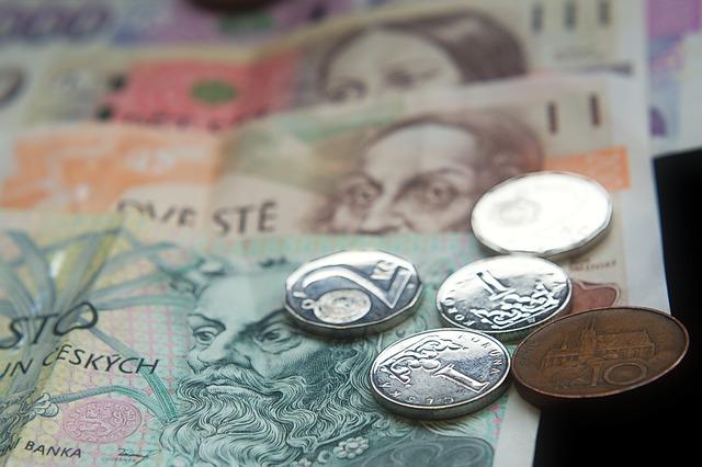 česke peníze